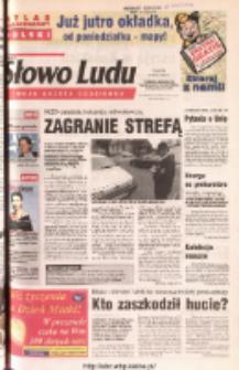 Słowo Ludu 2003 R.LIV, nr 117 (Ponidzie, Jędrzejów, Włoszczowa, Sandomierz, Staszów, Opatów)
