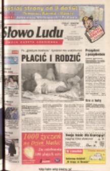 Słowo Ludu 2003 R.LIV, nr 121 (Ponidzie, Jędrzejów, Włoszczowa, Sandomierz, Staszów, Opatów)