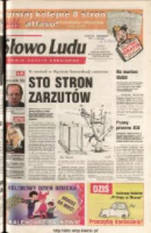 Słowo Ludu 2003 R.LIV, nr 123 (Ponidzie, Jędrzejów, Włoszczowa, Sandomierz, Staszów, Opatów)