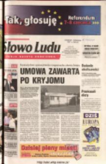 Słowo Ludu 2003 R.LIV, nr 129 (Ponidzie, Jędrzejów, Włoszczowa, Sandomierz, Staszów, Opatów)