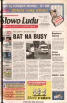 Słowo Ludu 2003 R.LIV, nr 134 (Ponidzie, Jędrzejów, Włoszczowa, Sandomierz, Staszów, Opatów)