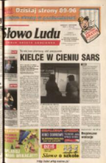 Słowo Ludu 2003 R.LIV, nr 135 (Ponidzie, Jędrzejów, Włoszczowa, Sandomierz, Staszów, Opatów)