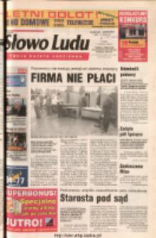 Słowo Ludu 2003 R.LIV, nr 139 (Ponidzie, Jędrzejów, Włoszczowa, Sandomierz, Staszów, Opatów)