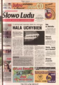 Słowo Ludu 2003 R.LIV, nr 205 (Ponidzie, Jędrzejów, Włoszczowa, Sandomierz, Staszów, Opatów)