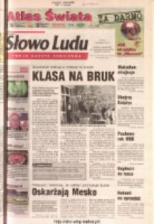 Słowo Ludu 2003 R.LIV, nr 209 (Ponidzie, Jędrzejów, Włoszczowa, Sandomierz, Staszów, Opatów)