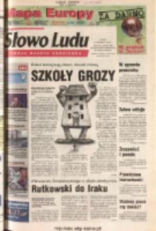 Słowo Ludu 2003 R.LIV, nr 215 (Ponidzie, Jędrzejów, Włoszczowa, Sandomierz, Staszów, Opatów)