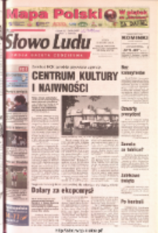 Słowo Ludu 2003 R.LIV, nr 221 (Ponidzie, Jędrzejów, Włoszczowa, Sandomierz, Staszów, Opatów)