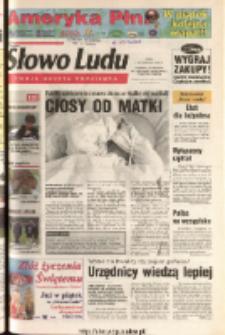Słowo Ludu 2003 R.LIV, nr 234 (Ponidzie, Jędrzejów, Włoszczowa, Sandomierz, Staszów, Opatów)