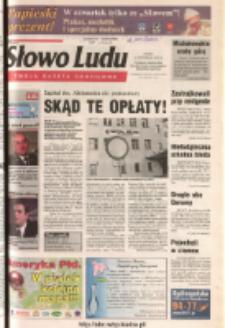 Słowo Ludu 2003 R.LIV, nr 239 (Ponidzie, Jędrzejów, Włoszczowa, Sandomierz, Staszów, Opatów)