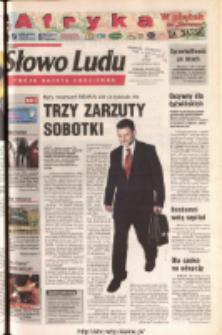 Słowo Ludu 2003 R.LIV, nr 245 (Ponidzie, Jędrzejów, Włoszczowa, Sandomierz, Staszów, Opatów)