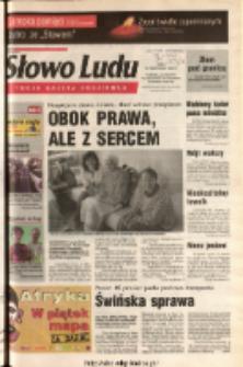 Słowo Ludu 2003 R.LIV, nr 252 (Ponidzie, Jędrzejów, Włoszczowa, Sandomierz, Staszów, Opatów)