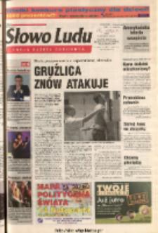 Słowo Ludu 2003 R.LIV, nr 257 (Ponidzie, Jędrzejów, Włoszczowa, Sandomierz, Staszów, Opatów)