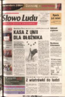 Słowo Ludu 2003 R.LIV, nr 279 (Ponidzie, Jędrzejów, Włoszczowa, Sandomierz, Staszów, Opatów)