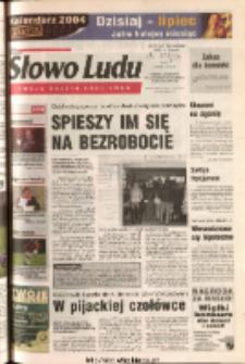 Słowo Ludu 2003 R.LIV, nr 280 (Ponidzie, Jędrzejów, Włoszczowa, Sandomierz, Staszów, Opatów)