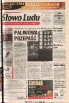 Słowo Ludu 2003 R.LIV, nr 286 (Ponidzie, Jędrzejów, Włoszczowa, Sandomierz, Staszów, Opatów)