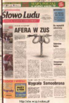 Słowo Ludu 2004 R.LV, nr 137 (Ponidzie, Jędrzejów, Włoszczowa, Sandomierz, Staszów, Opatów)