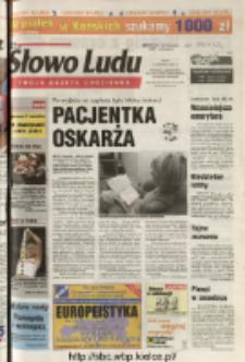 Słowo Ludu 2004 R.LV, nr 198 (Ponidzie, Jędrzejów, Włoszczowa, Sandomierz, Staszów, Opatów)