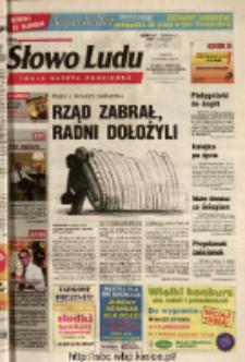 Słowo Ludu 2004 R.LV, nr 258 (Ponidzie, Jędrzejów, Włoszczowa, Sandomierz, Staszów, Opatów)