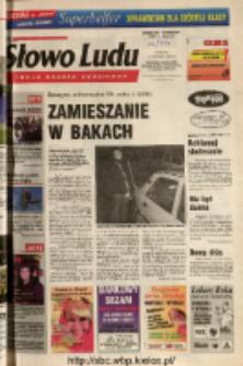 Słowo Ludu 2004 R.LV, nr 269 (Ponidzie, Jędrzejów, Włoszczowa, Sandomierz, Staszów, Opatów)