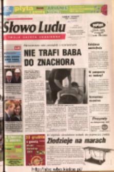 Słowo Ludu 2004 R.LV, nr 297 (Ponidzie, Jędrzejów, Włoszczowa, Sandomierz, Staszów, Opatów)
