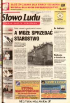 Słowo Ludu 2003 R.LIV, nr 16 (Ostrowiec, Starachowice, Skarżysko, Końskie, Ponidzie, Jędrzejów, Włoszczowa, Sandomierz, Staszów, Opatów)