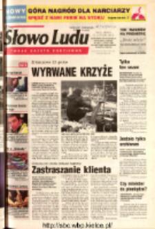 Słowo Ludu 2003 R.LIV, nr 21 (Ostrowiec, Starachowice, Skarżysko, Końskie, Ponidzie, Jędrzejów, Włoszczowa, Sandomierz, Staszów, Opatów)