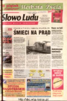 Słowo Ludu 2003 R.LIV, nr 28 (Ostrowiec, Starachowice, Skarżysko, Końskie, Ponidzie, Jędrzejów, Włoszczowa, Sandomierz, Staszów, Opatów)