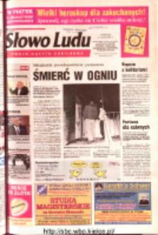 Słowo Ludu 2003 R.LIV, nr 34 (Ostrowiec, Starachowice, Skarżysko, Końskie, Ponidzie, Jędrzejów, Włoszczowa, Sandomierz, Staszów, Opatów)
