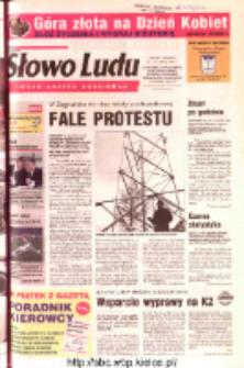 Słowo Ludu 2003 R.LIV, nr 45 (Ostrowiec, Starachowice, Skarżysko, Końskie, Ponidzie, Jędrzejów, Włoszczowa, Sandomierz, Staszów, Opatów)