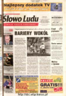 Słowo Ludu 2003 R.LIV, nr 108 (Ostrowiec, Starachowice, Skarżysko, Końskie, Ponidzie, Jędrzejów, Włoszczowa, Sandomierz, Staszów, Opatów)