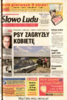 Słowo Ludu 2003 R.LIV, nr 120 (Ostrowiec, Starachowice, Skarżysko, Końskie, Ponidzie, Jędrzejów, Włoszczowa, Sandomierz, Staszów, Opatów)