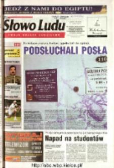 Słowo Ludu 2003 R.LIV, nr 154 (Ostrowiec, Starachowice, Skarżysko, Końskie, Ponidzie, Jędrzejów, Włoszczowa, Sandomierz, Staszów, Opatów)