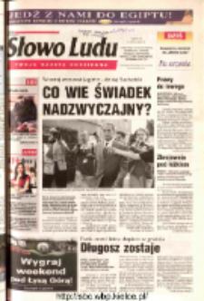 Słowo Ludu 2003 R.LIV, nr 164 (Ostrowiec, Starachowice, Skarżysko, Końskie, Ponidzie, Jędrzejów, Włoszczowa, Sandomierz, Staszów, Opatów)