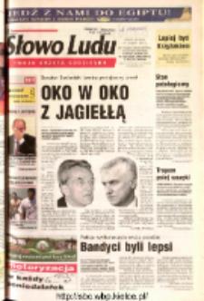 Słowo Ludu 2003 R.LIV, nr 166 (Ostrowiec, Starachowice, Skarżysko, Końskie, Ponidzie, Jędrzejów, Włoszczowa, Sandomierz, Staszów, Opatów)
