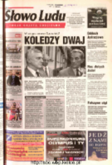 Słowo Ludu 2003 R.LIV, nr 167 (Ostrowiec, Starachowice, Skarżysko, Końskie, Ponidzie, Jędrzejów, Włoszczowa, Sandomierz, Staszów, Opatów)