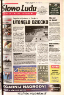 Słowo Ludu 2003 R.LIV, nr 169 (Ostrowiec, Starachowice, Skarżysko, Końskie, Ponidzie, Jędrzejów, Włoszczowa, Sandomierz, Staszów, Opatów)