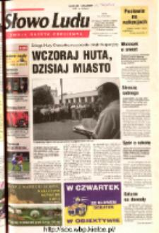 Słowo Ludu 2003 R.LIV, nr 175 (Ostrowiec, Starachowice, Skarżysko, Końskie, Ponidzie, Jędrzejów, Włoszczowa, Sandomierz, Staszów, Opatów)