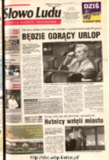Słowo Ludu 2003 R.LIV, nr 176 (Ostrowiec, Starachowice, Skarżysko, Końskie, Ponidzie, Jędrzejów, Włoszczowa, Sandomierz, Staszów, Opatów)