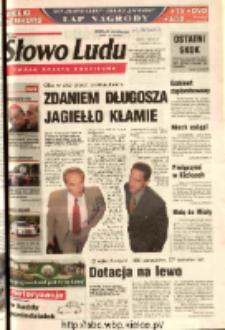 Słowo Ludu 2003 R.LIV, nr 184 (Ostrowiec, Starachowice, Skarżysko, Końskie, Ponidzie, Jędrzejów, Włoszczowa, Sandomierz, Staszów, Opatów)