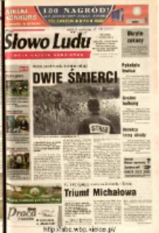 Słowo Ludu 2003 R.LIV, nr 185 (Ostrowiec, Starachowice, Skarżysko, Końskie, Ponidzie, Jędrzejów, Włoszczowa, Sandomierz, Staszów, Opatów)