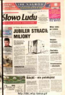 Słowo Ludu 2003 R.LIV, nr 186 (Ostrowiec, Starachowice, Skarżysko, Końskie, Ponidzie, Jędrzejów, Włoszczowa, Sandomierz, Staszów, Opatów)