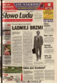 Słowo Ludu 2003 R.LIV, nr 187 (Ostrowiec, Starachowice, Skarżysko, Końskie, Ponidzie, Jędrzejów, Włoszczowa, Sandomierz, Staszów, Opatów)