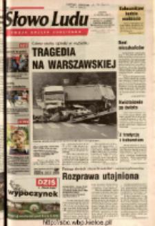 Słowo Ludu 2003 R.LIV, nr 193 (Ostrowiec, Starachowice, Skarżysko, Końskie, Ponidzie, Jędrzejów, Włoszczowa, Sandomierz, Staszów, Opatów)