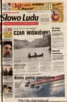 Słowo Ludu 2003 R.LIV, nr 201 (Ostrowiec, Starachowice, Skarżysko, Końskie, Ponidzie, Jędrzejów, Włoszczowa, Sandomierz, Staszów, Opatów)