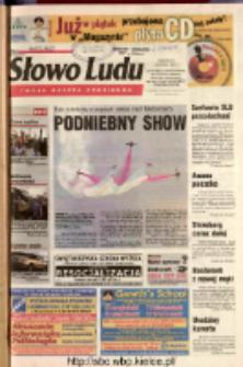 Słowo Ludu 2003 R.LIV, nr 202 (Ostrowiec, Starachowice, Skarżysko, Końskie, Ponidzie, Jędrzejów, Włoszczowa, Sandomierz, Staszów, Opatów)