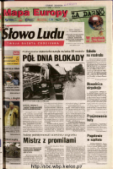 Słowo Ludu 2003 R.LIV, nr 213 (Ostrowiec, Starachowice, Skarżysko, Końskie, Ponidzie, Jędrzejów, Włoszczowa, Sandomierz, Staszów, Opatów)