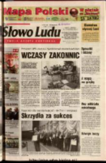 Słowo Ludu 2003 R.LIV, nr 219 (Ostrowiec, Starachowice, Skarżysko, Końskie, Ponidzie, Jędrzejów, Włoszczowa, Sandomierz, Staszów, Opatów)