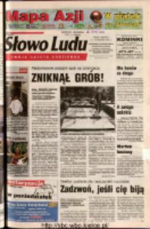 Słowo Ludu 2003 R.LIV, nr 225 (Ostrowiec, Starachowice, Skarżysko, Końskie, Ponidzie, Jędrzejów, Włoszczowa, Sandomierz, Staszów, Opatów)