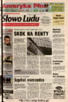 Słowo Ludu 2003 R.LIV, nr 232 (Ostrowiec, Starachowice, Skarżysko, Końskie, Ponidzie, Jędrzejów, Włoszczowa, Sandomierz, Staszów, Opatów)