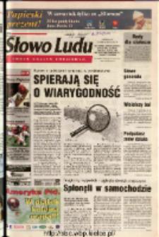 Słowo Ludu 2003 R.LIV, nr 238 (Ostrowiec, Starachowice, Skarżysko, Końskie, Ponidzie, Jędrzejów, Włoszczowa, Sandomierz, Staszów, Opatów)